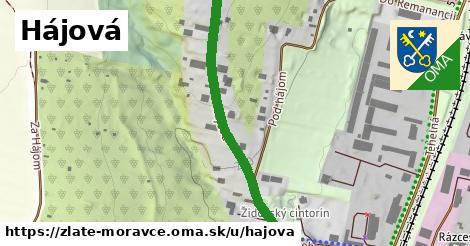ilustrácia k Hájová, Zlaté Moravce - 433m