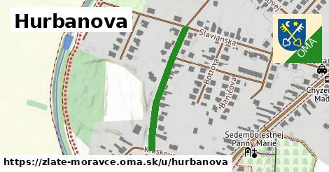 ilustračný obrázok k Hurbanova, Zlaté Moravce