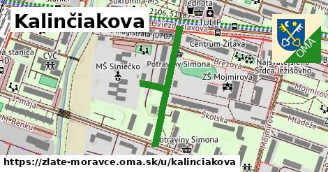 ilustrácia k Kalinčiakova, Zlaté Moravce - 341m