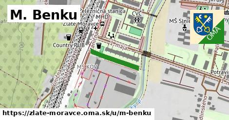 ilustrácia k M. Benku, Zlaté Moravce - 168m