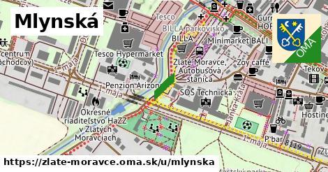 ilustračný obrázok k Mlynská, Zlaté Moravce