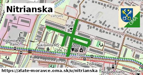 ilustrácia k Nitrianska, Zlaté Moravce - 411m