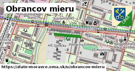 ilustrácia k Obrancov mieru, Zlaté Moravce - 149m