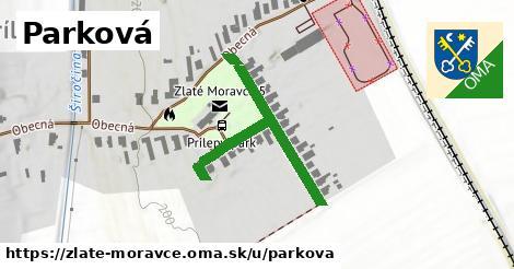 ilustrácia k Parková, Zlaté Moravce - 385m