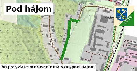 ilustrácia k Pod hájom, Zlaté Moravce - 276m