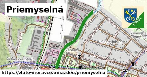 ilustrácia k Priemyselná, Zlaté Moravce - 0,70km