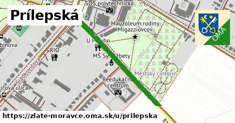 ilustrácia k Prílepská, Zlaté Moravce - 389m
