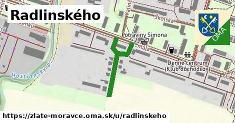 ilustrácia k Radlinského, Zlaté Moravce - 269m