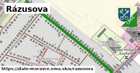 ilustrácia k Rázusova, Zlaté Moravce - 609m