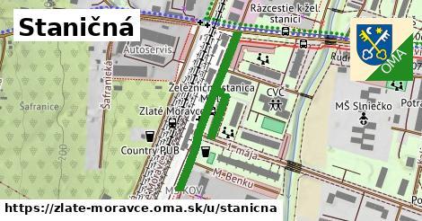 ilustrácia k Staničná, Zlaté Moravce - 400m