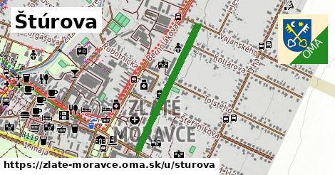 ilustrácia k Štúrova, Zlaté Moravce - 630m
