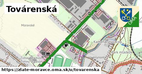 ilustrácia k Továrenská, Zlaté Moravce - 2,2km