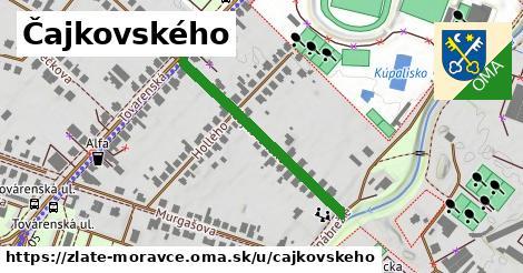 ilustrácia k Čajkovského, Zlaté Moravce - 322m