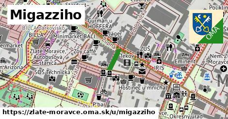 Migazziho, Zlaté Moravce