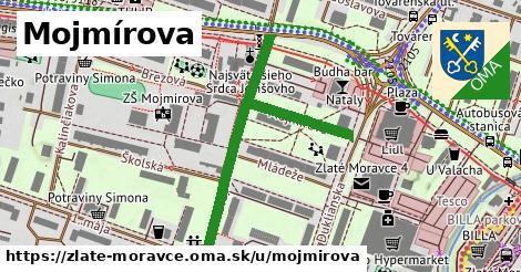 ilustrácia k Mojmírova, Zlaté Moravce - 499m