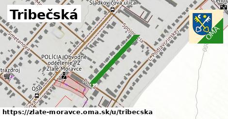 ilustrácia k Tribečská, Zlaté Moravce - 221m