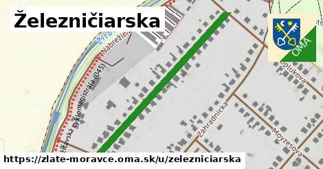 ilustrácia k Železničiarska, Zlaté Moravce - 453m