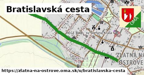 ilustrácia k Bratislavská cesta, Zlatná na Ostrove - 1,08km