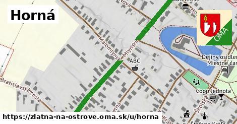 ilustrácia k Horná, Zlatná na Ostrove - 471m