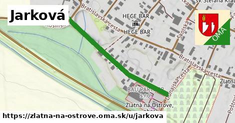 ilustrácia k Jarková, Zlatná na Ostrove - 408m