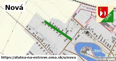 ilustračný obrázok k Nová, Zlatná na Ostrove