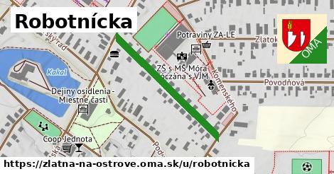 ilustrácia k Robotnícka, Zlatná na Ostrove - 327m