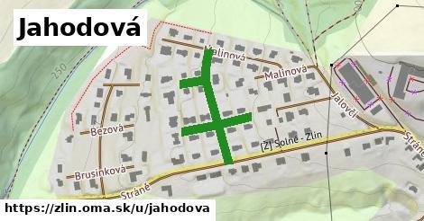 ilustrácia k Jahodová, Zlín - 373m