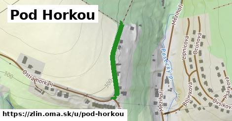 ilustrácia k Pod Horkou, Zlín - 253m
