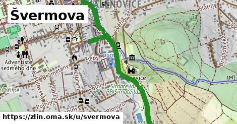 ilustrácia k Švermova, Zlín - 1,15km