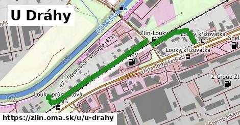 ilustrácia k U Dráhy, Zlín - 535m