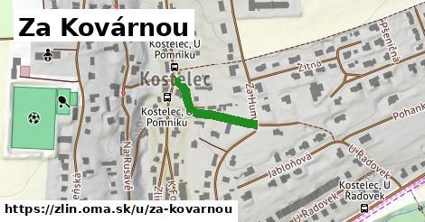 ilustrácia k Za Kovárnou, Zlín - 178m
