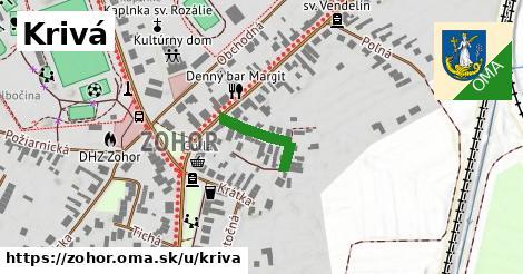 ilustrácia k Krivá, Zohor - 145m