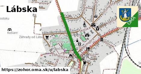 ilustrácia k Lábska, Zohor - 580m