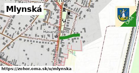 ilustrácia k Mlynská, Zohor - 122m