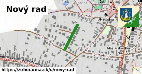 ilustrácia k Nový rad, Zohor - 154m