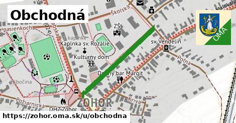 ilustrácia k Obchodná, Zohor - 306m