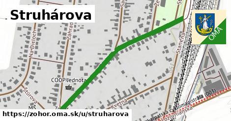 ilustrácia k Struhárová, Zohor - 541m