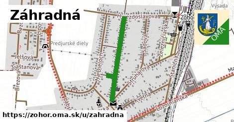ilustrácia k Záhradná, Zohor - 0,84km
