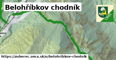 ilustrácia k Belohříbkov chodník, Zuberec - 3,5km