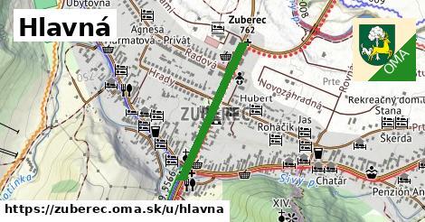 ilustrácia k Hlavná, Zuberec - 523m