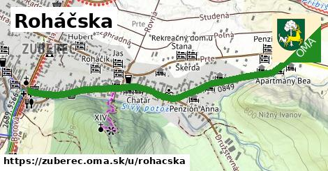 ilustrácia k Roháčska, Zuberec - 1,28km