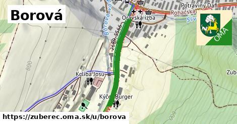 ilustrácia k Borová, Zuberec - 278m