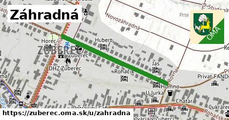 ilustrácia k Záhradná, Zuberec - 376m