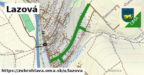 ilustrácia k Lazová, Zubrohlava - 644m