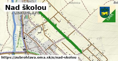 ilustrácia k Nad školou, Zubrohlava - 0,79km