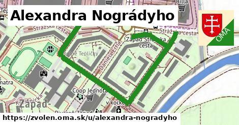 ilustračný obrázok k Alexandra Nográdyho, Zvolen