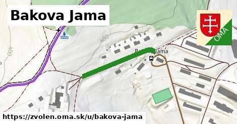 ilustračný obrázok k Bakova Jama, Zvolen