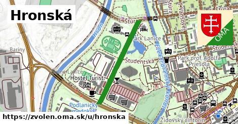 ilustrácia k Hronská, Zvolen - 581m