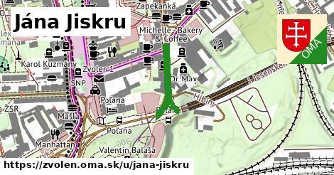 ilustračný obrázok k Jána Jiskru, Zvolen