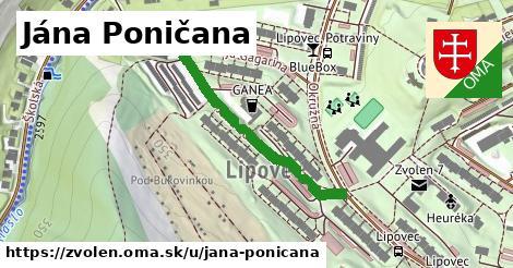 ilustračný obrázok k Jána Poničana, Zvolen